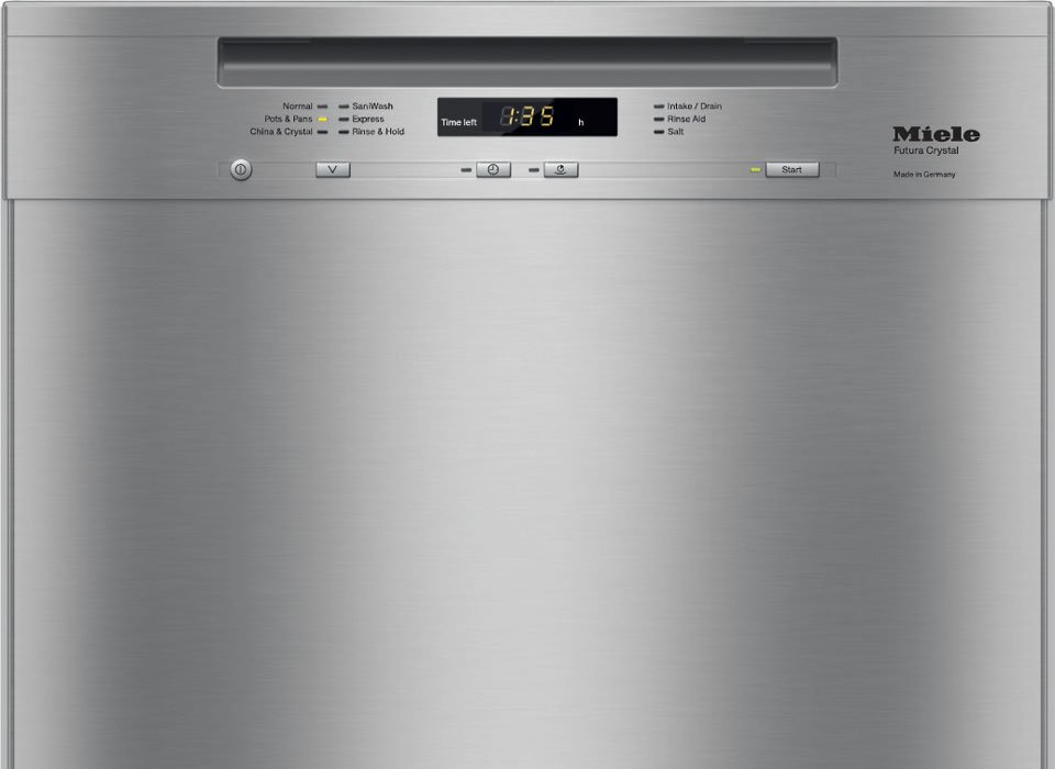 Miele Futura Crystal dishwasher